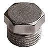 Заглушки НР никелированные 1″ Stout