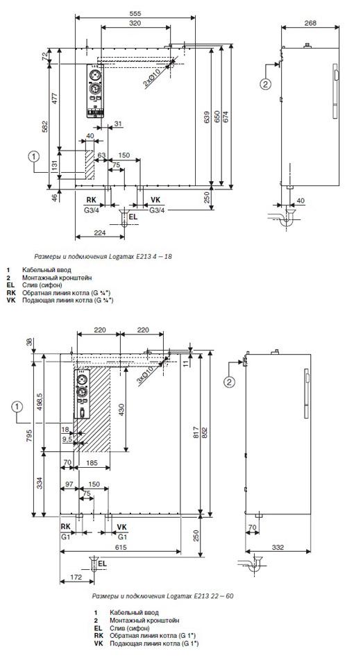 Электрическая схема электрокотла элеко