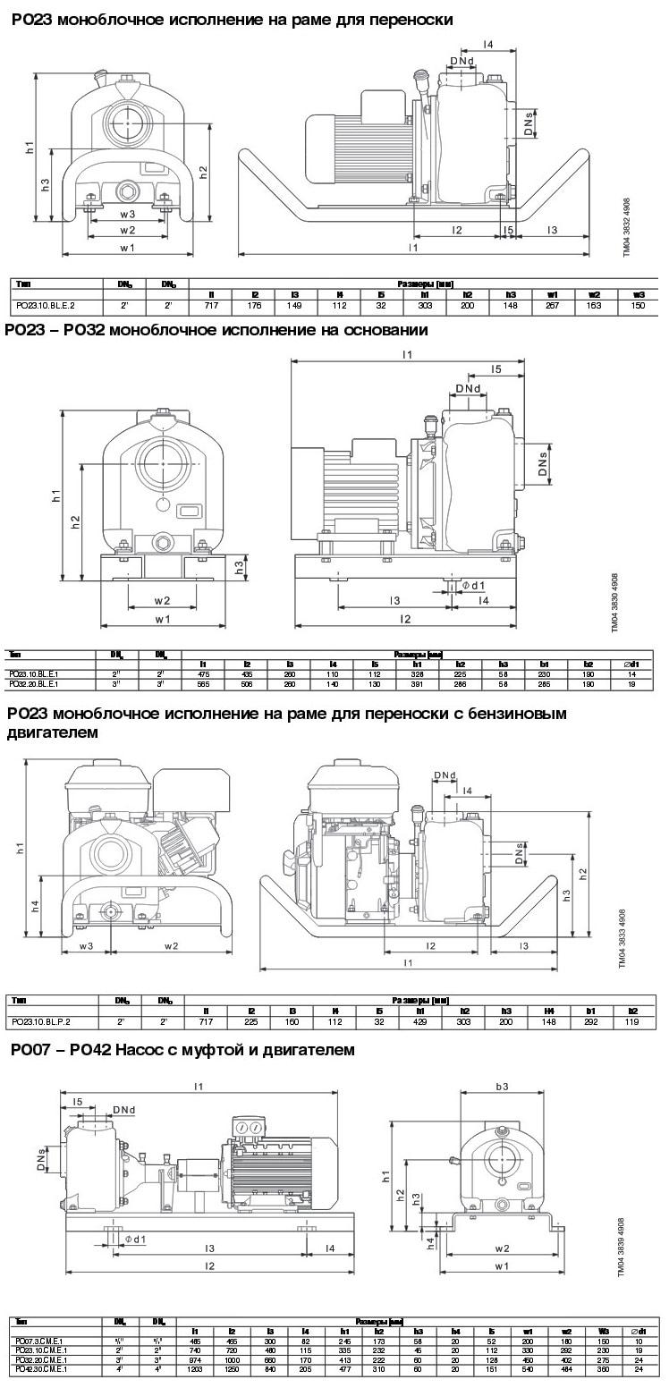 насос эспа электрическая схема подключения
