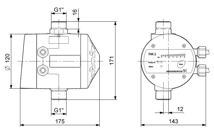 Реле Давления Grundfos Pm2 Инструкция - фото 8